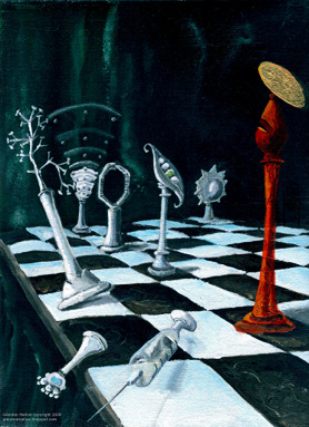 Science-Chess Accommodating Religion ©Glendon Mellow CC: BY-NC-ND
